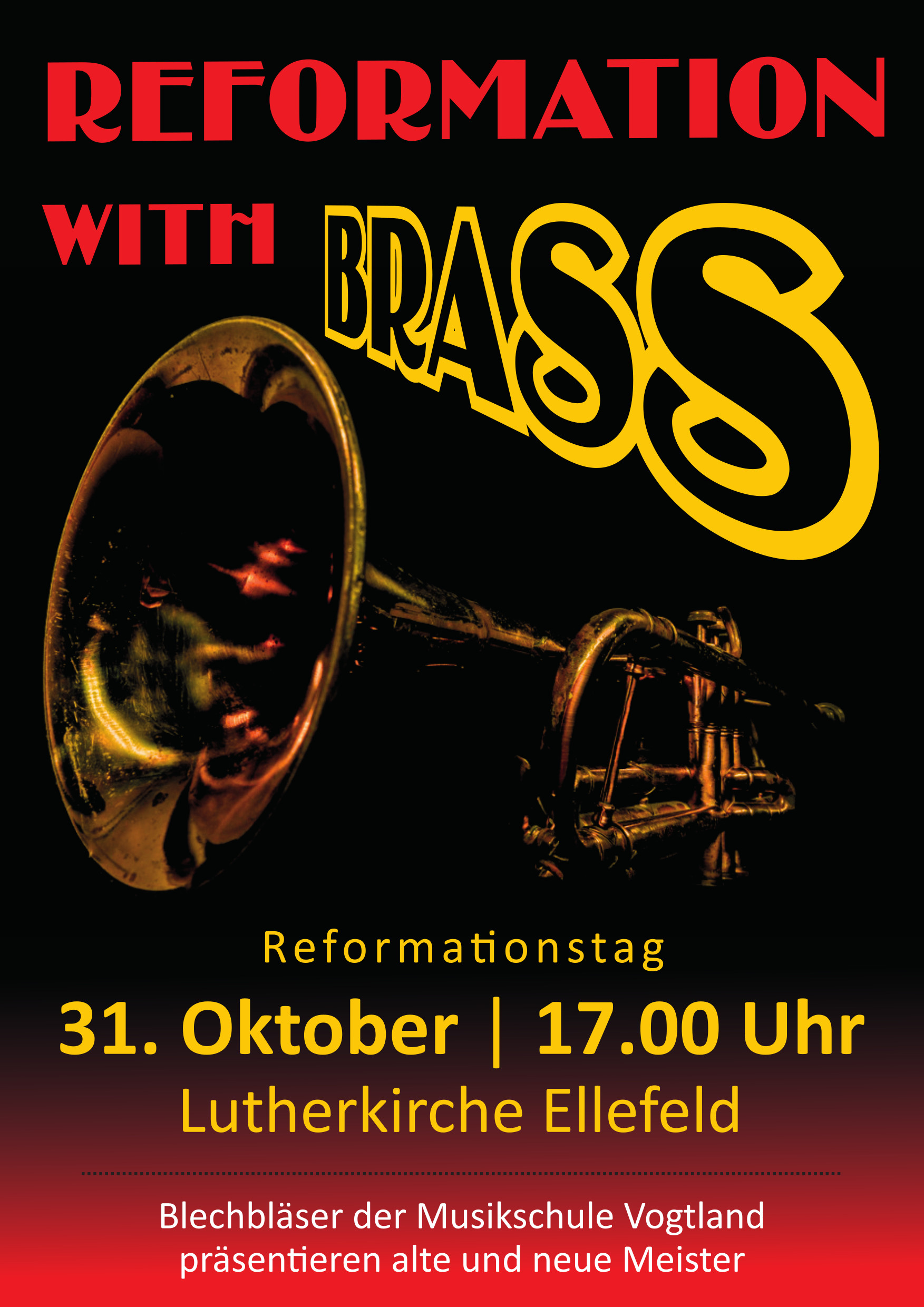 """Reformation with Brass"" in der Lutherkirche Ellefeld"